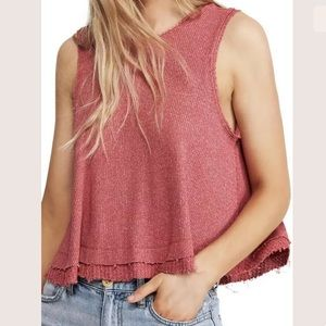 [Free People] NWT New Love Ribbed Tank Top